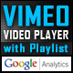 Vimeo Video Player with Playlist & GoogleAnalytics - ActiveDen Item for Sale