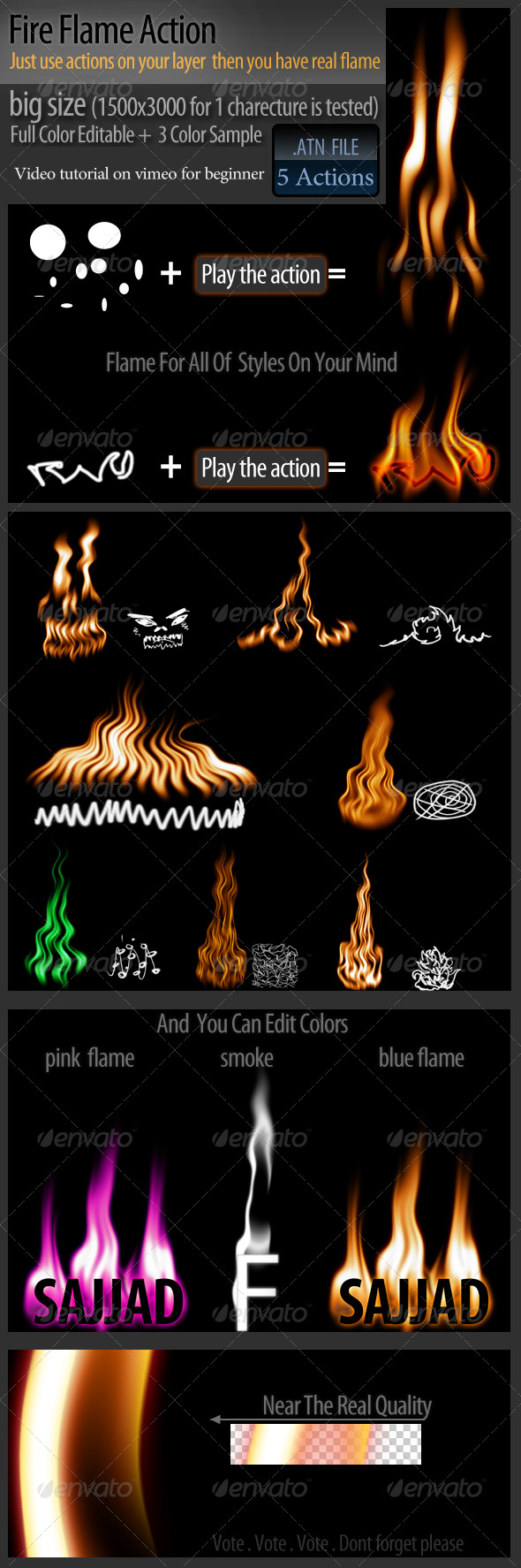 GraphicRiver Fire Flame Action 162230