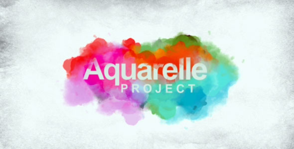 After Effects Project - VideoHive Aquarelle project 162340