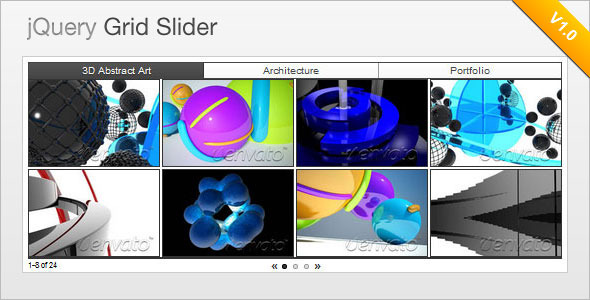CodeCanyon jQuery Grid Style Slider 1204040