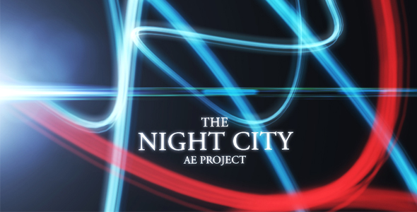 After Effects Project - VideoHive The Night City 162966