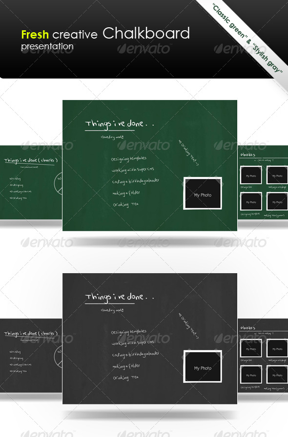 GraphicRiver Fresh Creative Chalkboard 163055