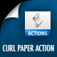 Curl Paper Action - GraphicRiver Item for Sale