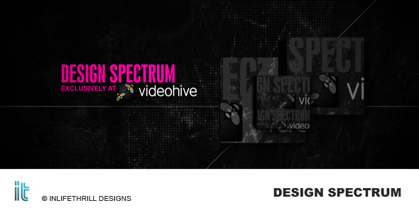After Effects Project - VideoHive Design Spectrum 163111