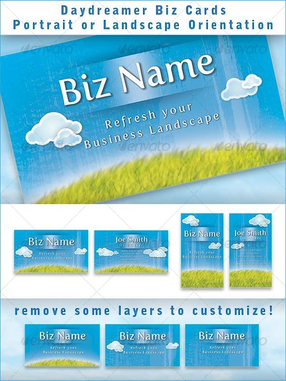 GraphicRiver Daydreamer Biz card 54218