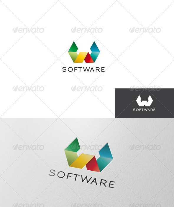 GraphicRiver Abstract and Colorful Logo 1367165