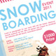 Snow Boarding / Extreme Sports A5 Flyer - GraphicRiver Item for Sale