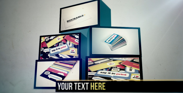 After Effects Project - VideoHive Boxes Showcase 162375