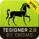 Tesigner2 - The Most Beautiful Website Template - ThemeForest Item for Sale