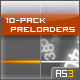 10-Pack Preloaders (AS3) - ActiveDen Item for Sale