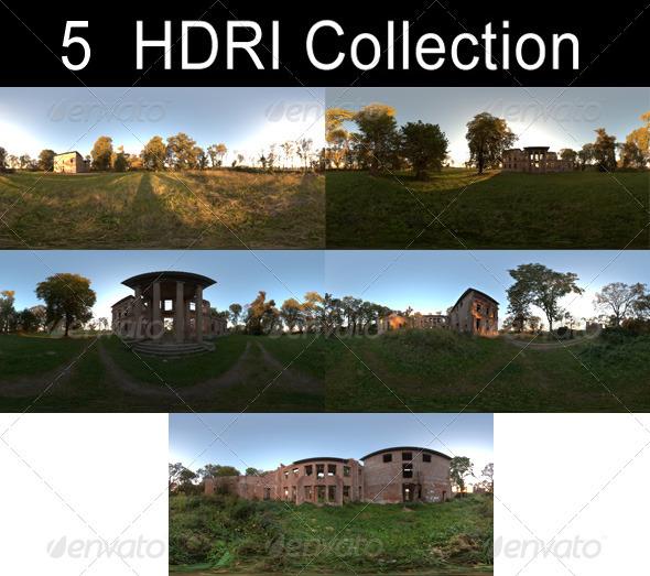3DOcean HDRi Pack Ruin CG Textures -  HDRI Images  Exterior  Sky  Sky Packs 1369691