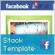 Flash Stack Template for Facebook Fan Page - ActiveDen Item for Sale