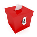 Red ballot box - PhotoDune Item for Sale