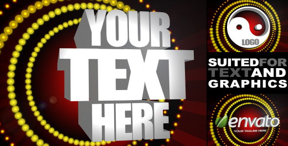 After Effects Project - VideoHive Vegas Style Intro 164241