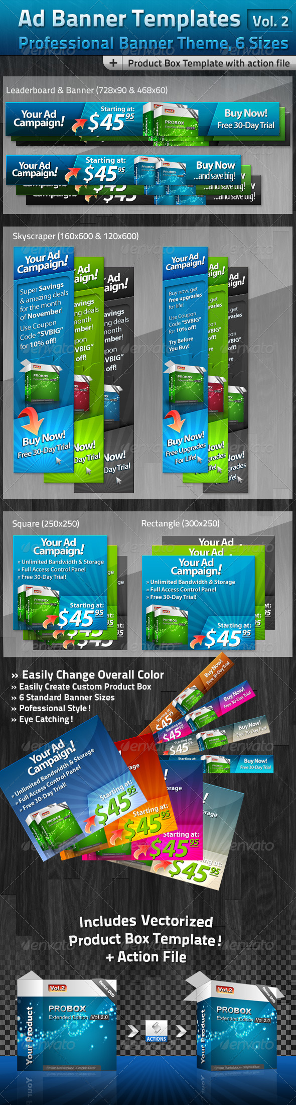 GraphicRiver Ad Banner Template Collection Vol 2 164336