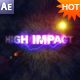 High Impact Titles After Effects Project - VideoHive Item for Sale