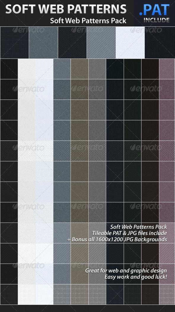 GraphicRiver Soft Web Patterns 1294738