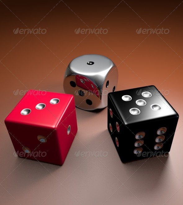 Graphic River Dice 3D Models Graphics -  3D Renders  Objects 164414