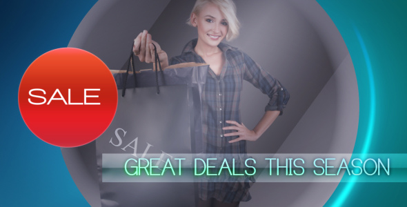 After Effects Project - VideoHive promo Sales 164690