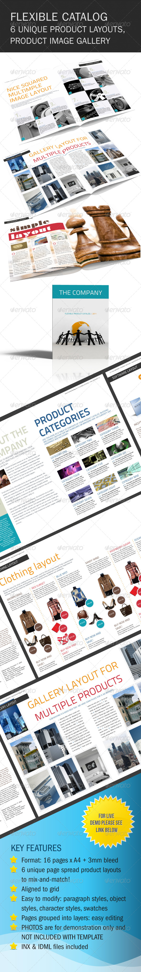 GraphicRiver Flexible Product Catalog With Images 164777