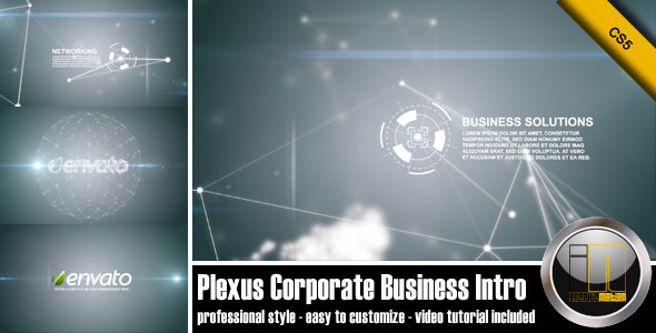 After Effects Project - VideoHive Plexus Corporate Business Intro 1380679