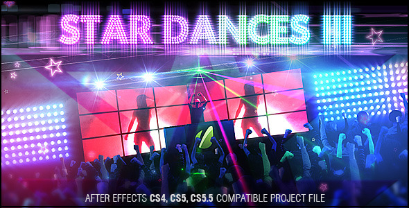 After Effects Project - VideoHive Star Dances III 1356909