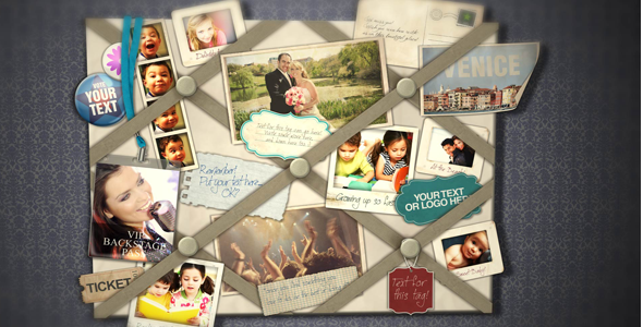 After Effects Project - VideoHive French Memo Board 165381