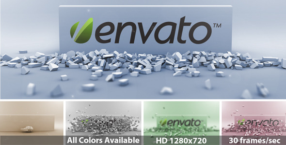 After Effects Project - VideoHive Exploding Grenade Logo Reveal 1349508