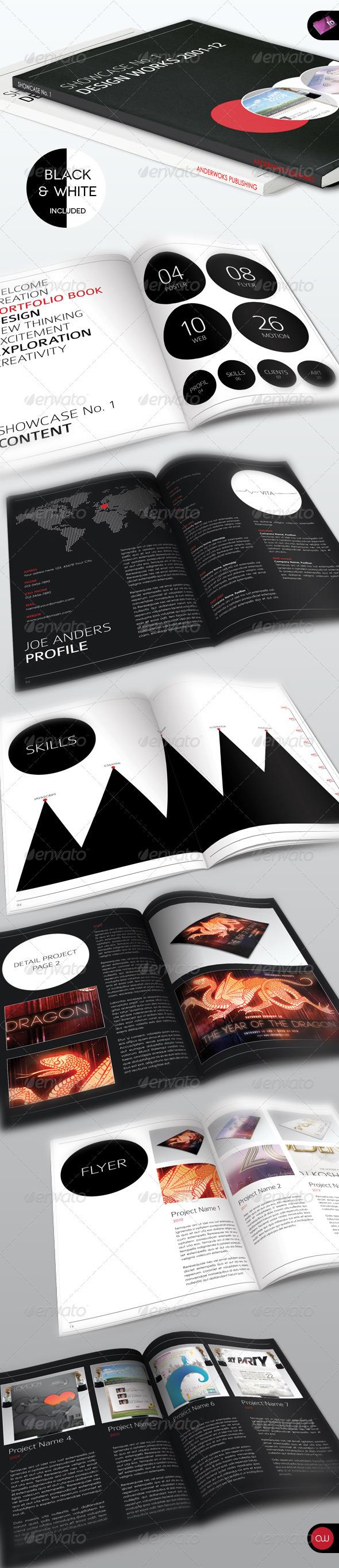 GraphicRiver Book & Brochure Showcase No.1 1392721