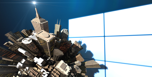 After Effects Project - VideoHive Mini 3D World City Skyscraper Logo Opener ...