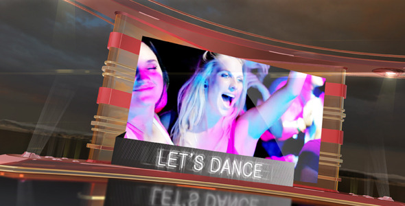 After Effects Project - VideoHive Let's DANCE 1333164