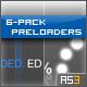 6-Pack Preloaders (AS3) - ActiveDen Item for Sale