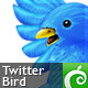 Twitter Bird - GraphicRiver Item for Sale