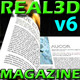 Real 3D Magazine Page Flip v2 - ActiveDen Item for Sale
