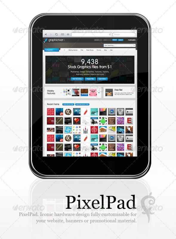 GraphicRiver PixelPad 84470