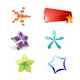 Star styled icons collection - GraphicRiver Item for Sale