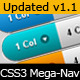 CSS3 Animated Mega Nav - CodeCanyon Item for Sale