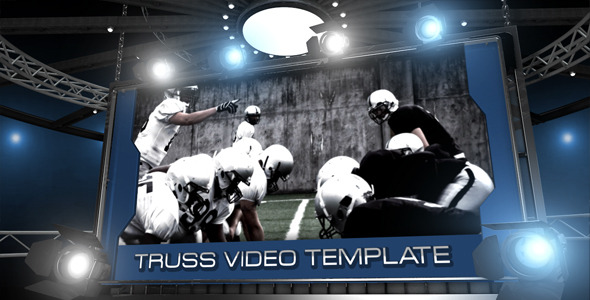 After Effects Project - VideoHive Truss Video Board Display 1408813