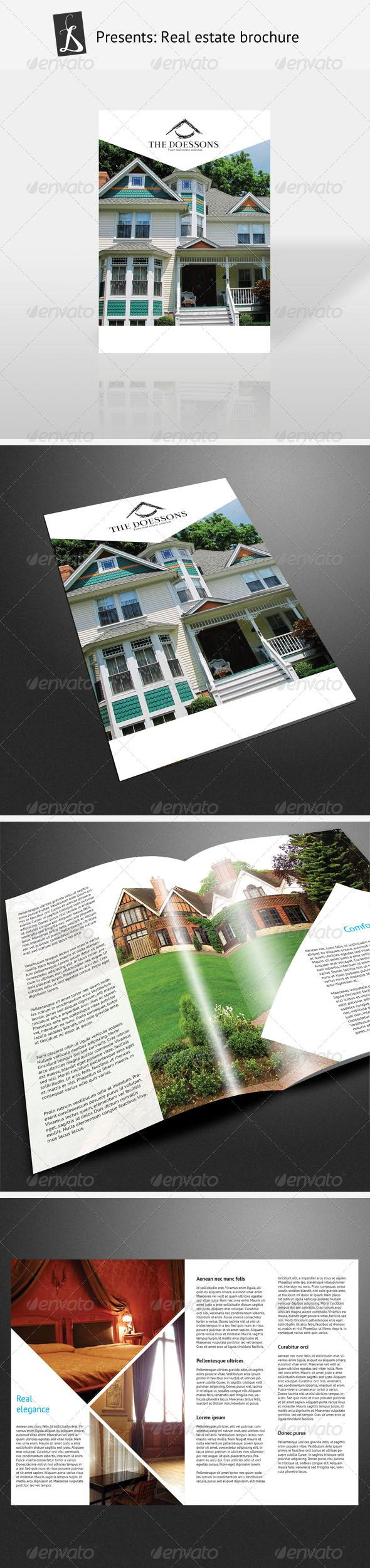 GraphicRiver Real Estate Brochure 167850