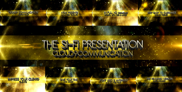 After Effects Project - VideoHive Si-Fi Presentation 164721