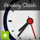 Simple analog clock - ActiveDen Item for Sale