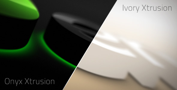 After Effects Project - VideoHive Onyx & Ivory Xtrusion 167989