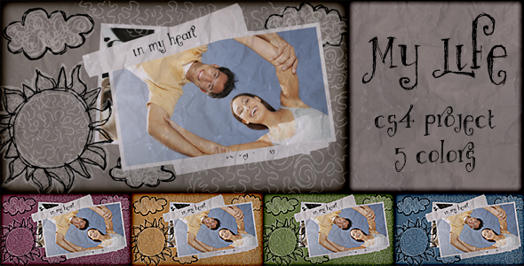 After Effects Project - VideoHive My Life 168306