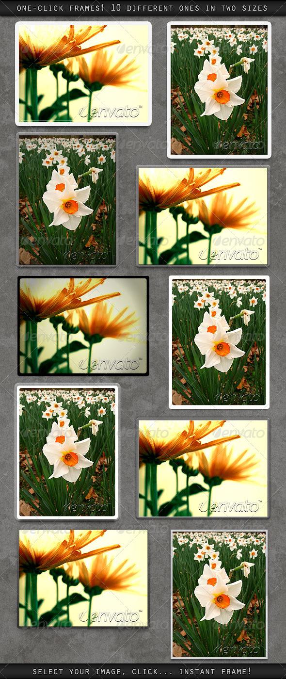 GraphicRiver One Click Frames 168513