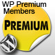 WP Premium Members + Pre Advertisements admin - CodeCanyon Item for Sale