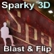 Sparky 3D Flip Banner Rotator (xml) - ActiveDen Item for Sale