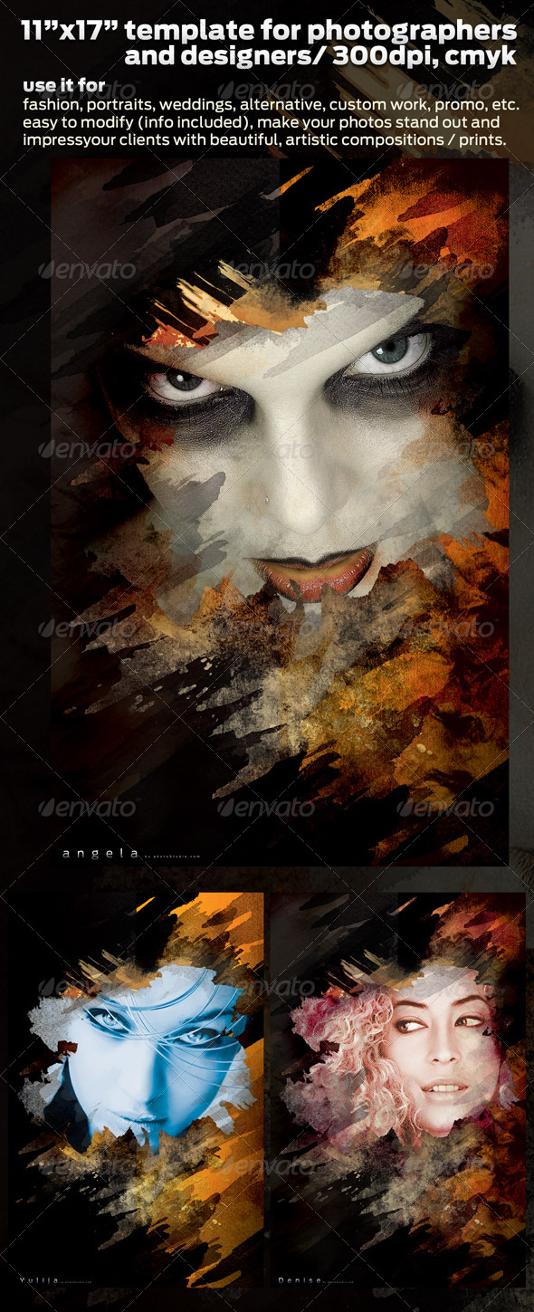 GraphicRiver Poster Design Template for Pro Photographers 11x17 168848