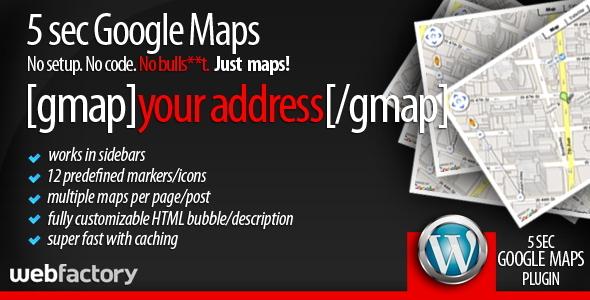 5sec Google Maps - CodeCanyon