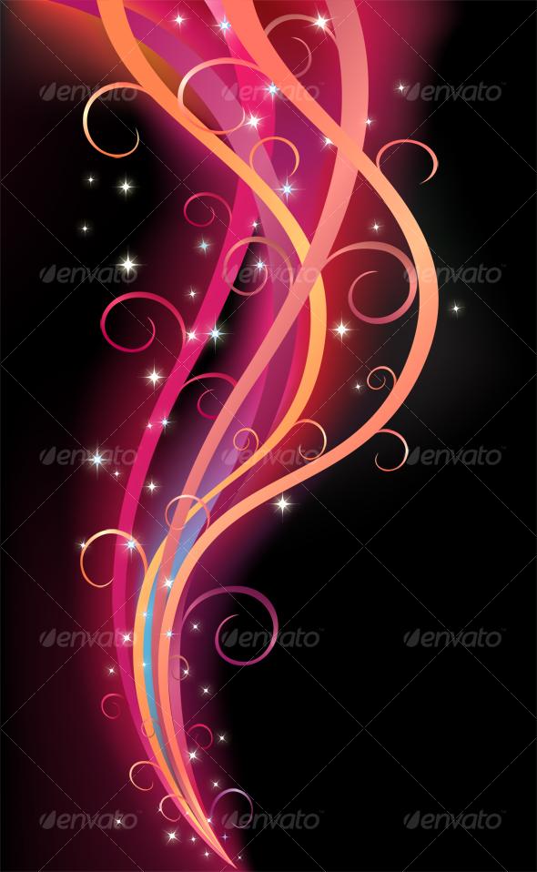 GraphicRiver Colorful Swirl Ribbon 56372