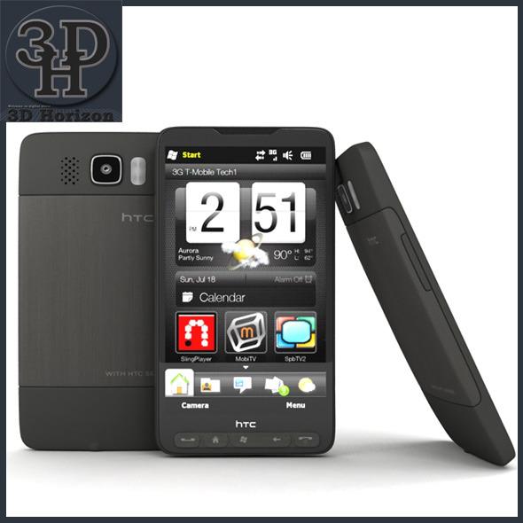 3DOcean HTC HD2 3D Models -  Electronics 1425116